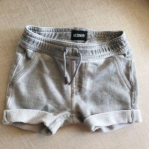 Hudson Jean Brand baby shorts grey 12M